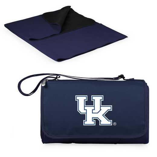820-00-138-264-0: Kentucky Wildcats - Blanket Tote (Navy)