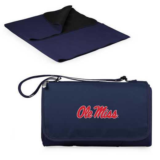 820-00-138-374-0: Ole Miss Rebels - Blanket Tote (Navy)