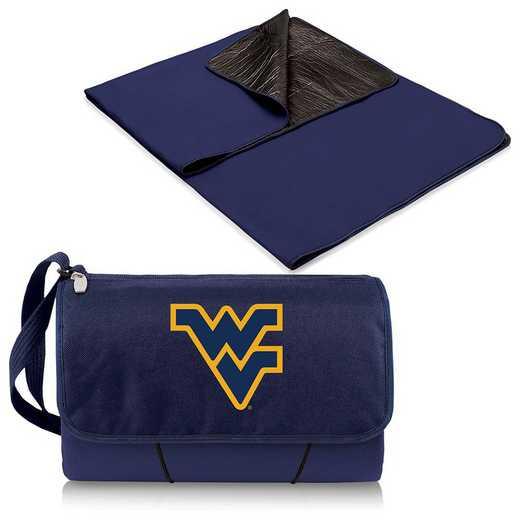 820-00-138-834-0: West Virginia Mountaineers - Blanket Tote (Navy)