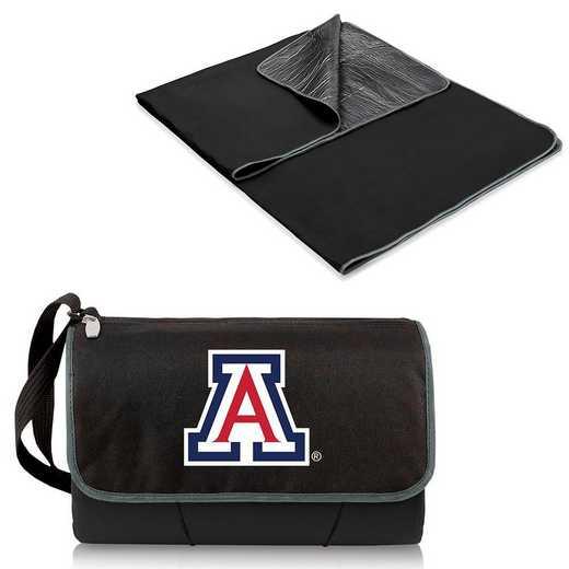 820-00-175-014-0: Arizona Wildcats - Blanket Tote (Black)