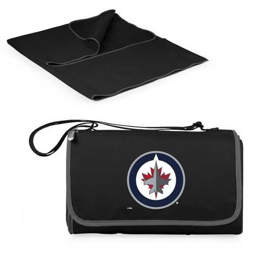 820-00-175-304-10: Winnipeg Jets - 'Blnkt Tote' (Black)