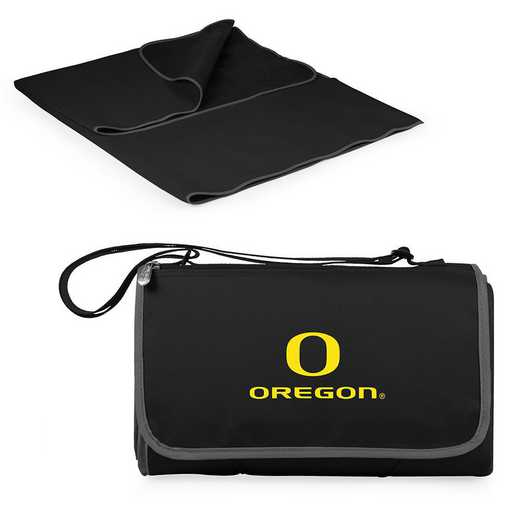 820-00-175-474-0: Oregon Ducks - Blanket Tote (Black)