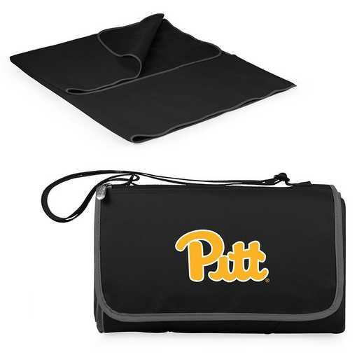 820-00-175-504-0: Pittsburgh Panthers - Blanket Tote (Black)