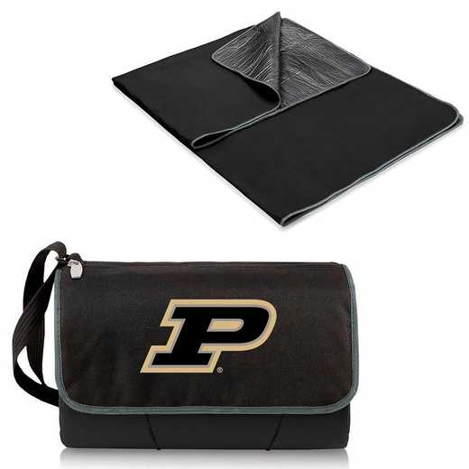 820-00-175-514-0: Purdue Boilermakers - Blanket Tote (Black)