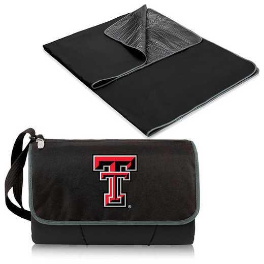 820-00-175-574-0: Texas Tech Red Raiders - Blanket Tote (Black)