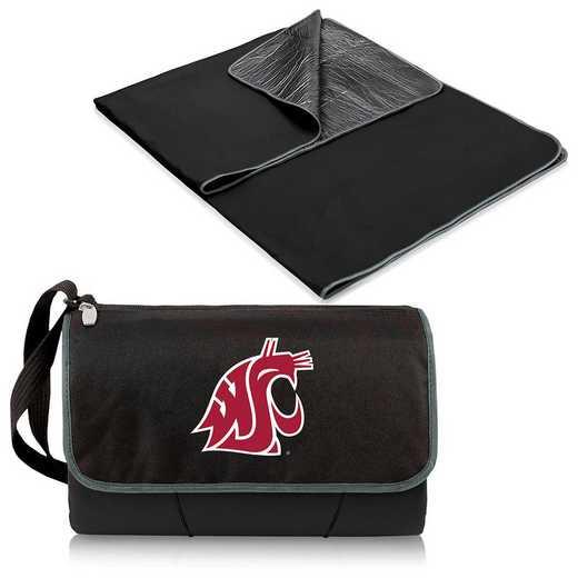 820-00-175-634-0: Washington State Cougars - Blanket Tote (Black)
