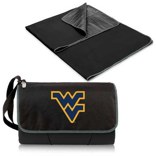 820-00-175-834-0: West Virginia Mountaineers - Blanket Tote (Black)