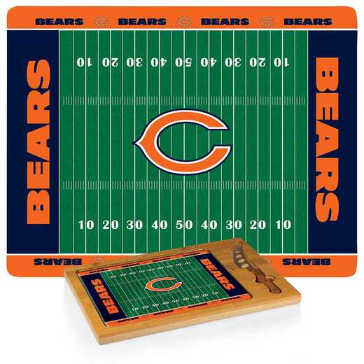 910-00-505-064-2: Chicago Bears-Icon CB/Tray/Knife ST (FB Design)