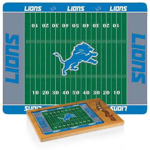 910-00-505-114-2: Detroit Lions-Icon CB/Tray/Knife ST (FB Design)