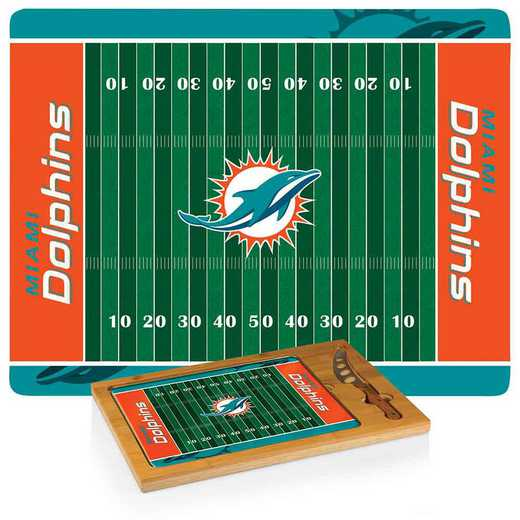 910-00-505-174-2: Miami Dolphins-Icon CB/Tray/Knife ST (FB Design)