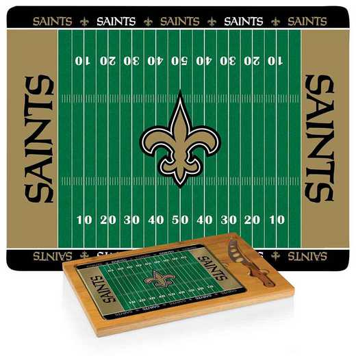 910-00-505-204-2: New Orleans Saints-Icon CB/Tray/Knife ST (FB Design)
