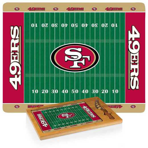 910-00-505-274-2: San Francisco 49ers-Icon CB/Tray/Knife ST (FB Design)