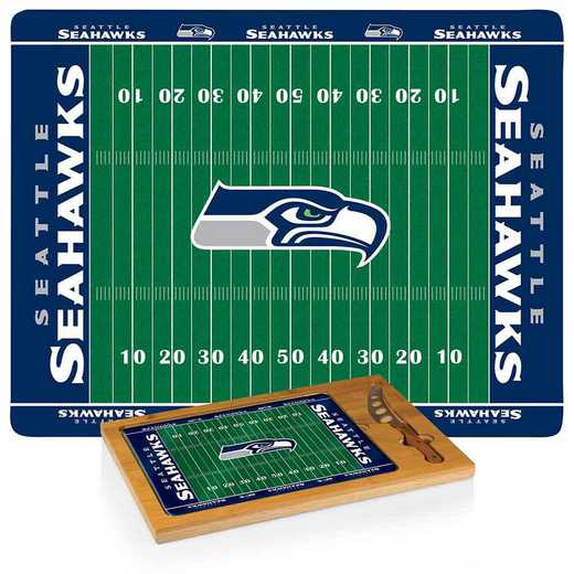 910-00-505-284-2: Seattle Seahawks-Icon CB/Tray/Knife ST (FB Design)