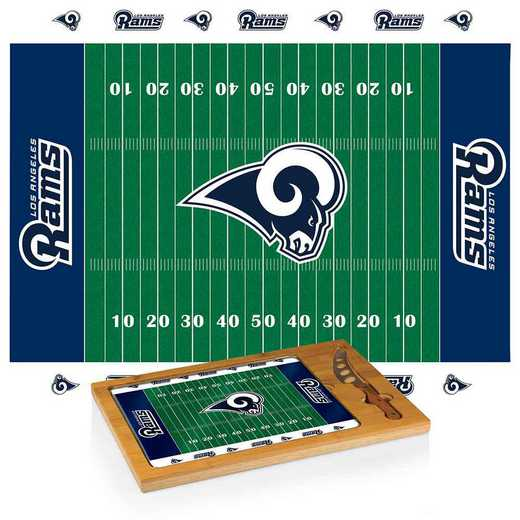 910-00-505-334-2: Los Angeles Rams-Icon CB/Tray/Knife ST (FB Design)
