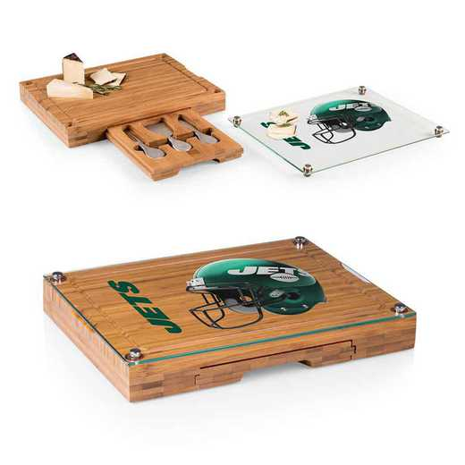 919-00-505-224-2: New York Jets-Concerto Bamboo CB/Tray/Cheese Tools ST