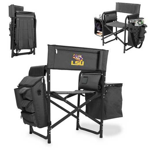 807-00-679-294-0: LSU Tigers - Fusion Chair (Fusion Grey/Black)