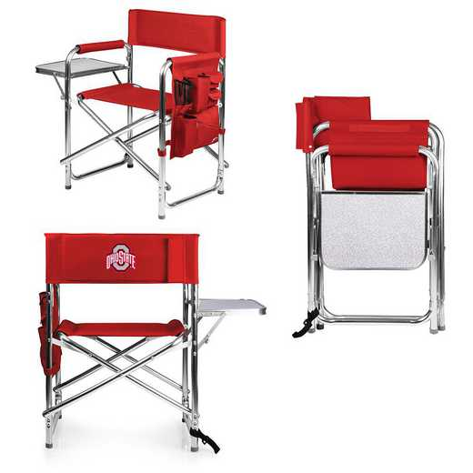 809-00-100-444-0: Ohio State Buckeyes - Sports Chair (Red)