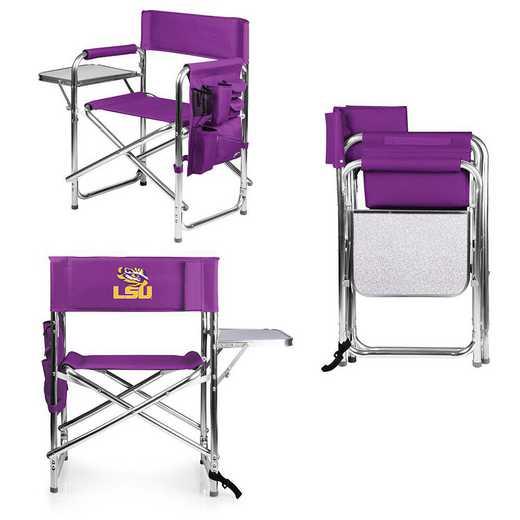 809-00-101-294-0: LSU Tigers - Sports Chair (Purple)