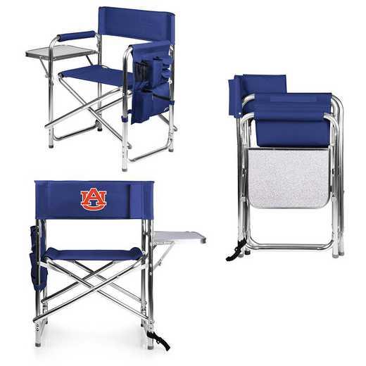 809-00-138-044-0: Auburn Tigers - Sports Chair (Navy)