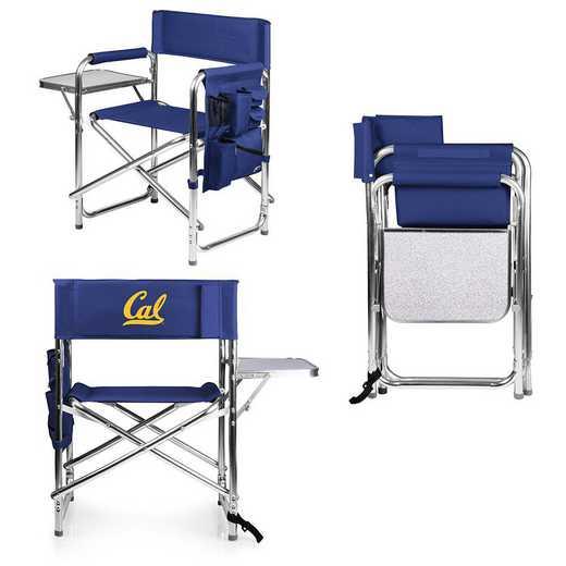 809-00-138-074-0: Cal Bears - Sports Chair (Navy)