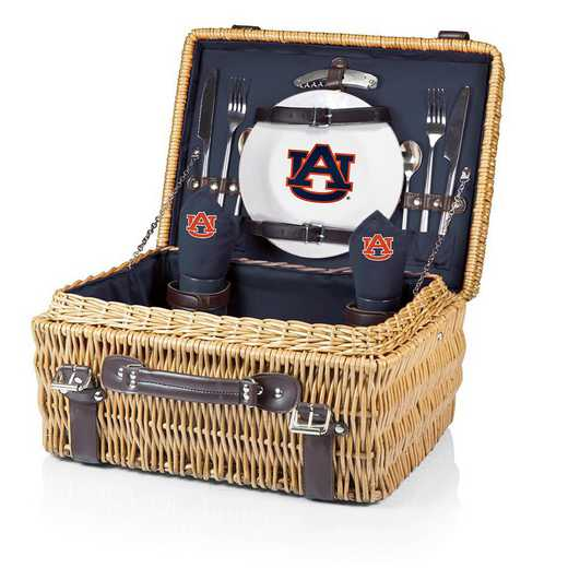 208-40-138-044-0: Auburn Tigers - Champion Picnic Basket (Navy)