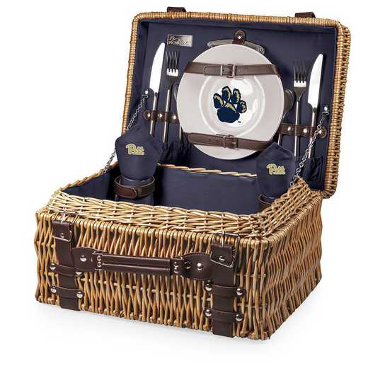 208-40-138-504-0: Pittsburgh Panthers - Champion Picnic Basket (Navy)