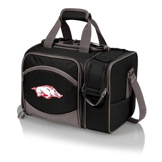 508-23-175-034-0: Arkansas Razorbacks - Malibu Picnic Tote (Black)
