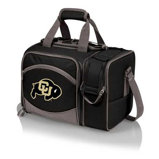 508-23-175-124-0: Colorado Buffaloes - Malibu Picnic Tote (Black)