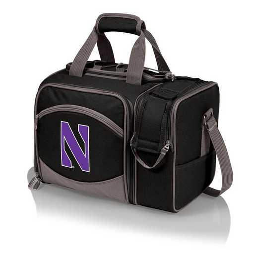 508-23-175-434-0: Northwestern Wildcats - Malibu Picnic Tote (Black)