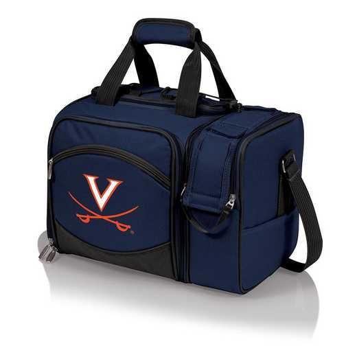 508-23-915-594-0: Virginia Cavaliers - Malibu Picnic Tote (Navy)