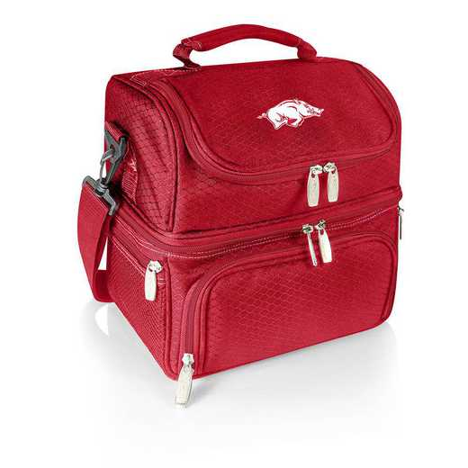 512-80-100-034-0: Arkansas Razorbacks - Pranzo Lunch Tote (Red)
