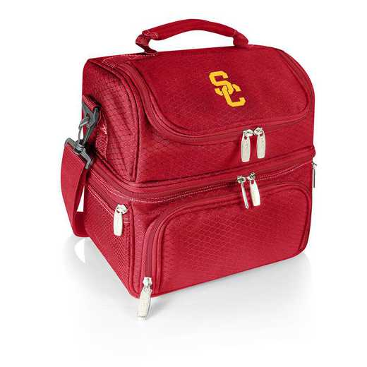 512-80-100-094-0: USC Trojans - Pranzo Lunch Tote (Red)