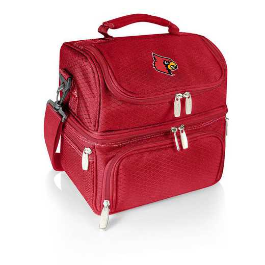 512-80-100-304-0: Louisville Cardinals - Pranzo Lunch Tote (Red)