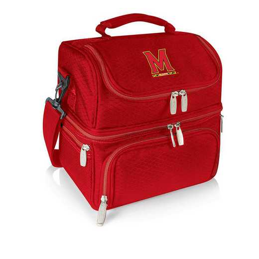 512-80-100-314-0: Maryl/ Terrapins - Pranzo Lunch Tote (Red)