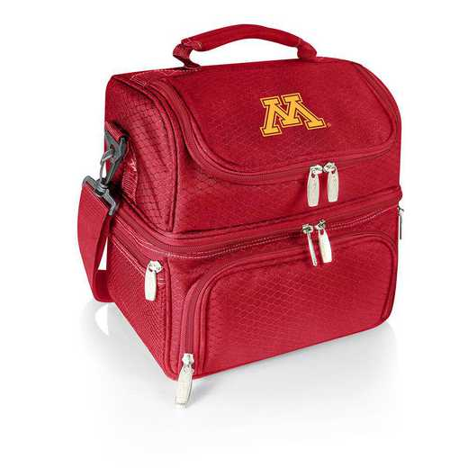 512-80-100-364-0: Minnesota Golden Gophers - Pranzo Lunch Tote (Red)