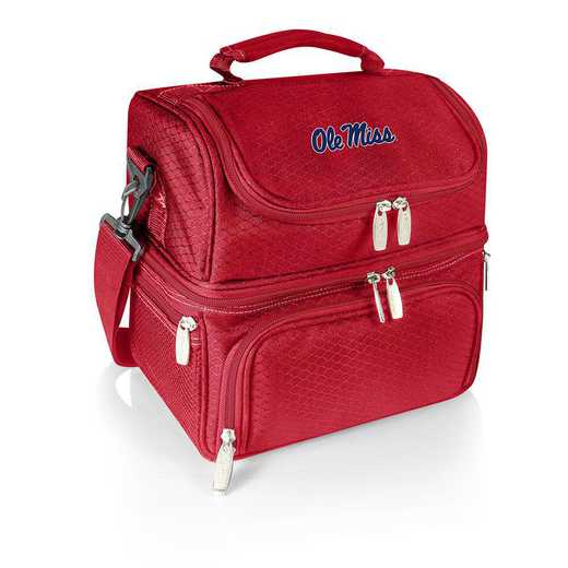 512-80-100-374-0: Ole Miss Rebels - Pranzo Lunch Tote (Red)