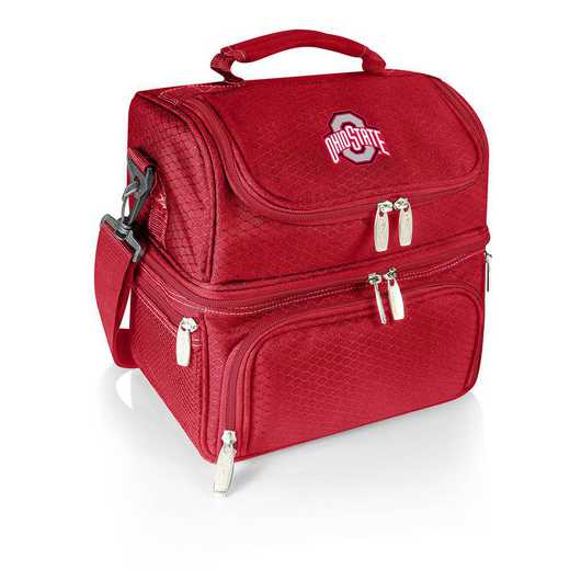 512-80-100-444-0: Ohio State Buckeyes - Pranzo Lunch Tote (Red)