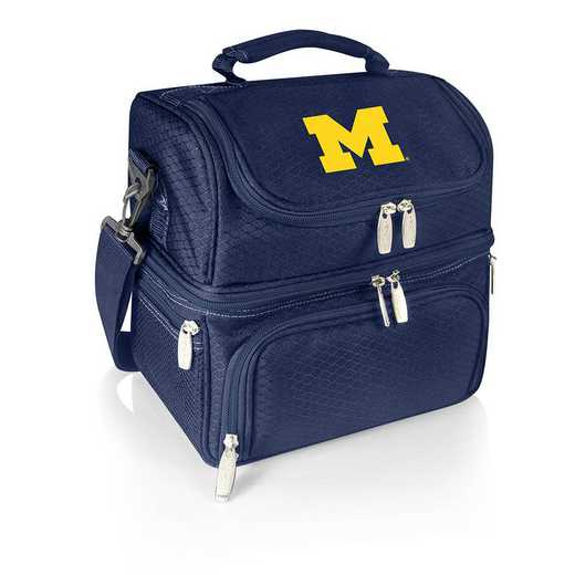 512-80-138-344-0: Michigan Wolverines - Pranzo Lunch Tote (Navy)