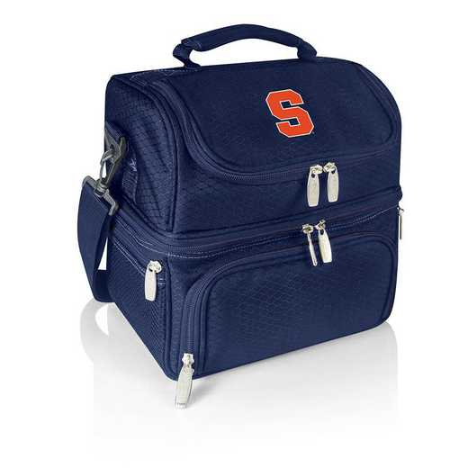 512-80-138-544-0: Syracuse Orange - Pranzo Lunch Tote (Navy)