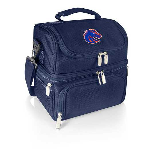 512-80-138-704-0: Boise State Broncos - Pranzo Lunch Tote (Navy)
