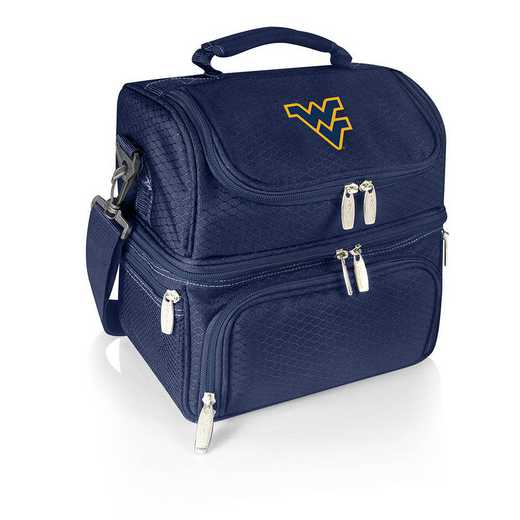 512-80-138-834-0: West Virginia Mountaineers - Pranzo Lunch Tote (Navy)