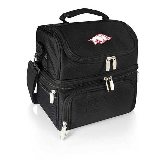 512-80-175-034-0: Arkansas Razorbacks - Pranzo Lunch Tote (Black)
