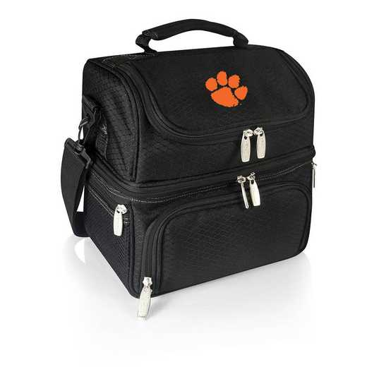 512-80-175-104-0: Clemson Tigers - Pranzo Lunch Tote (Black)