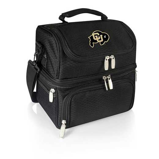 512-80-175-124-0: Colorado Buffaloes - Pranzo Lunch Tote (Black)