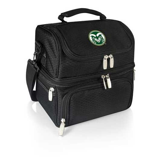 512-80-175-134-0: Colorado State Rams - Pranzo Lunch Tote (Black)