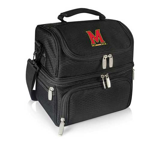 512-80-175-314-0: Maryl/ Terrapins - Pranzo Lunch Tote (Black)