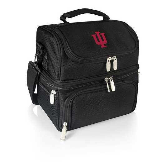 512-80-175-674-0: Indiana Hoosiers - Pranzo Lunch Tote (Black)