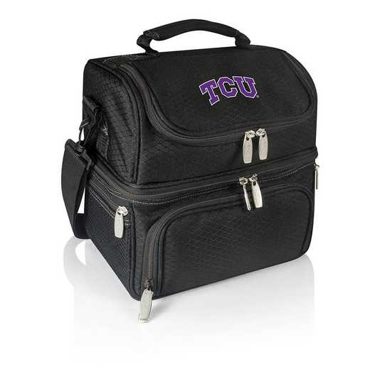 512-80-175-844-0: TCU Horned Frogs - Pranzo Lunch Tote (Black)