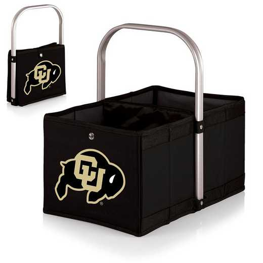 546-00-179-124-0: Colorado Buffaloes - Urban Basket (Black)