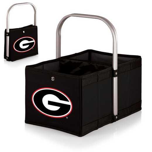 546-00-179-184-0: Georgia Bulldogs - Urban Basket (Black)